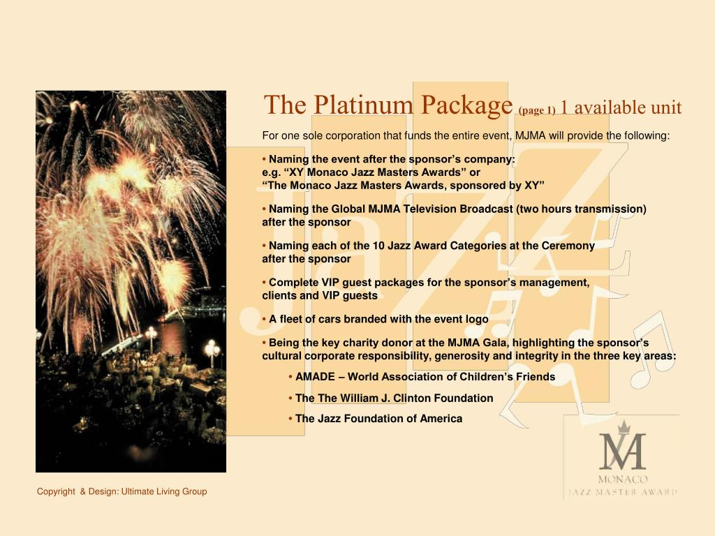 The Platinum Package