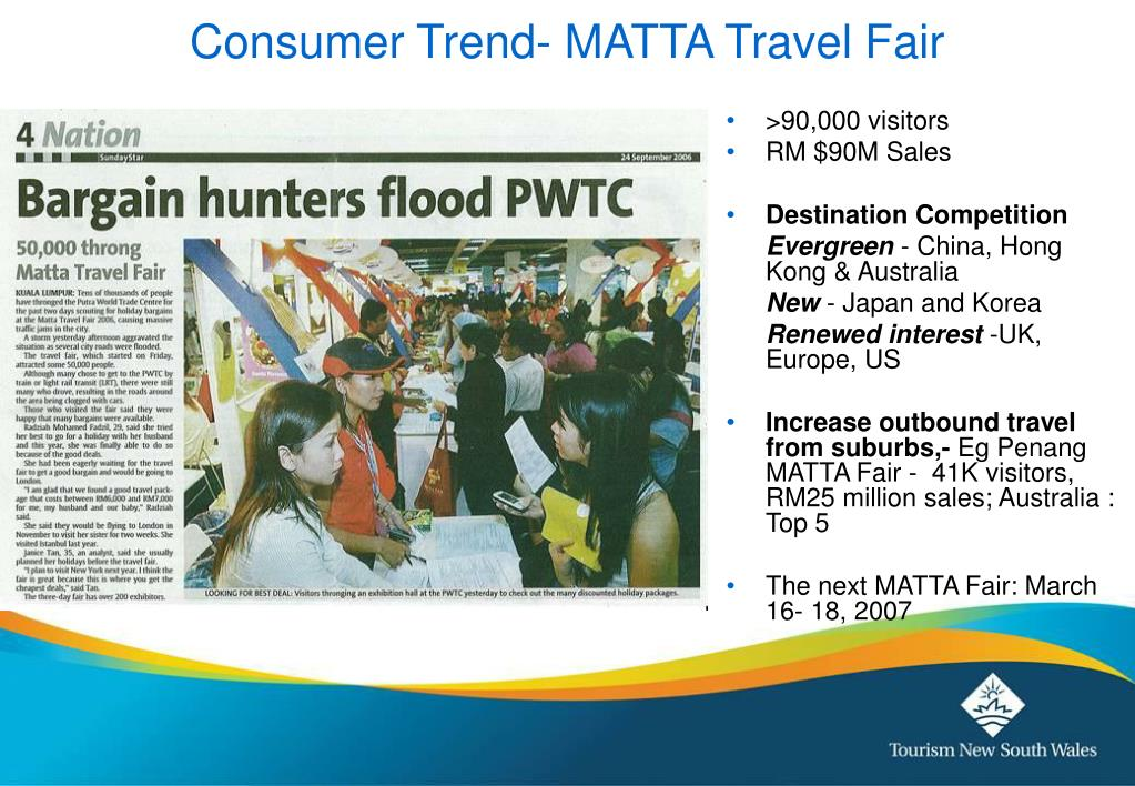 Consumer Trend- MATTA Travel Fair