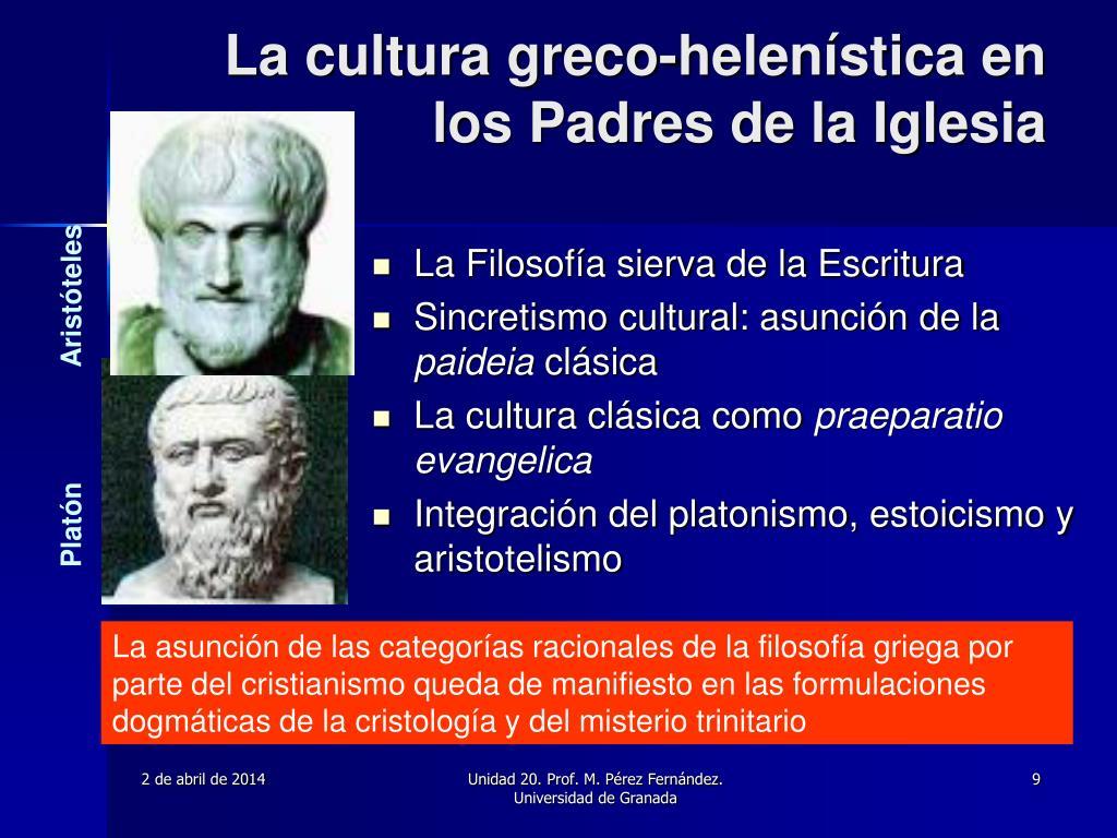 La cultura greco-helenística en los Padres de la Iglesia