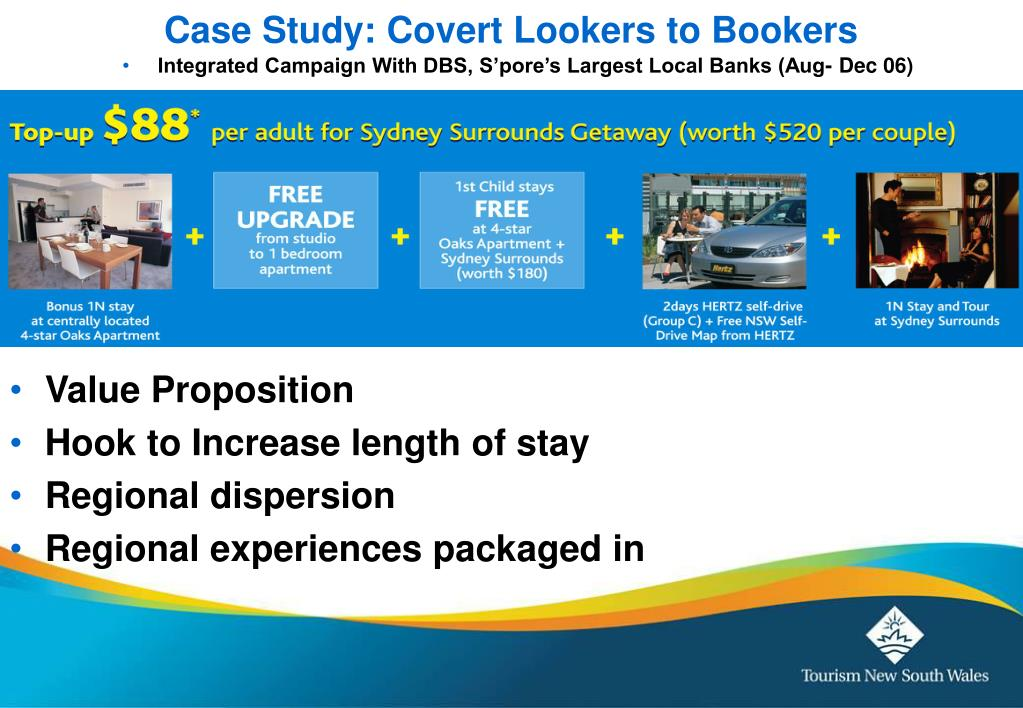 Case Study: Covert Lookers to Bookers