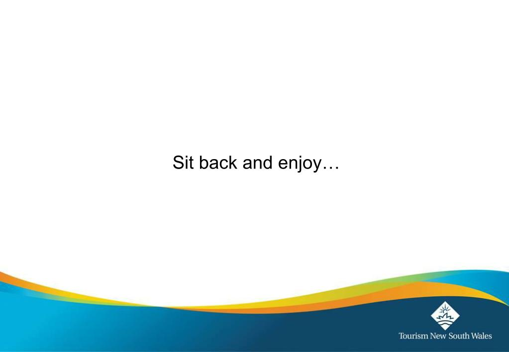 Sit back and enjoy…