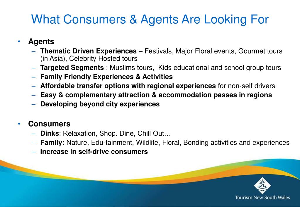 What Consumers & Agents Are Looking For