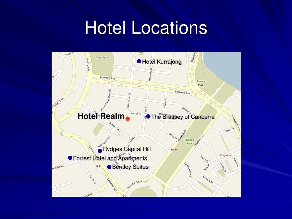 Hotel Locations