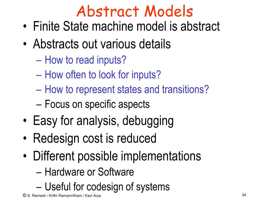 Abstract Models