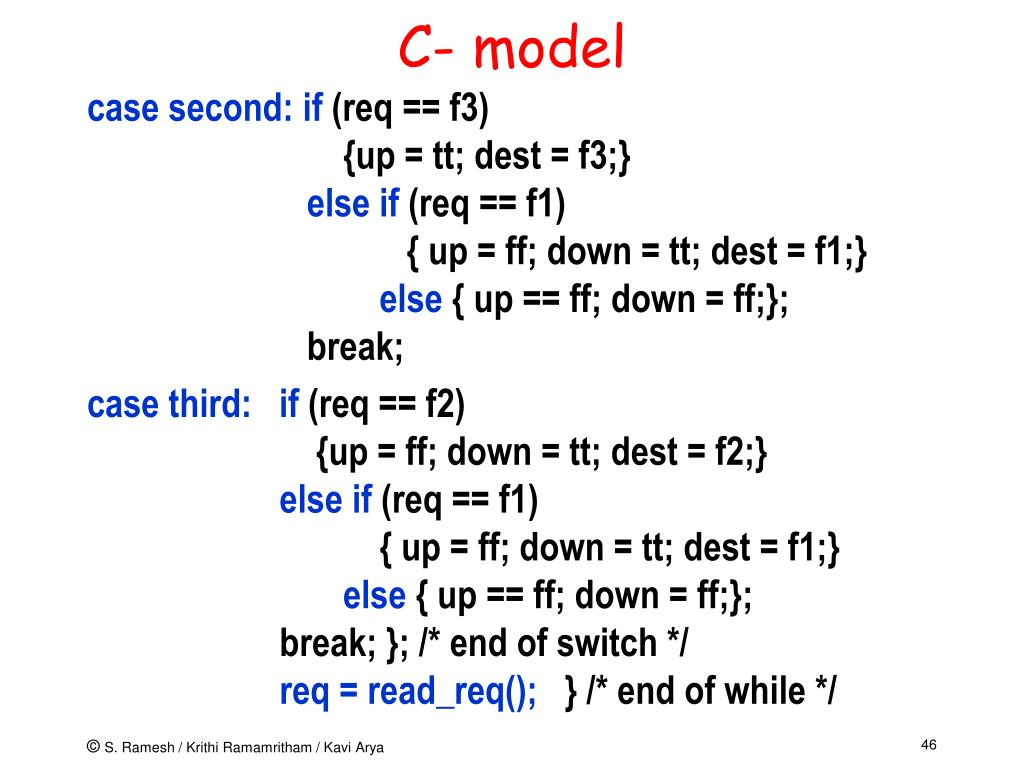 C- model
