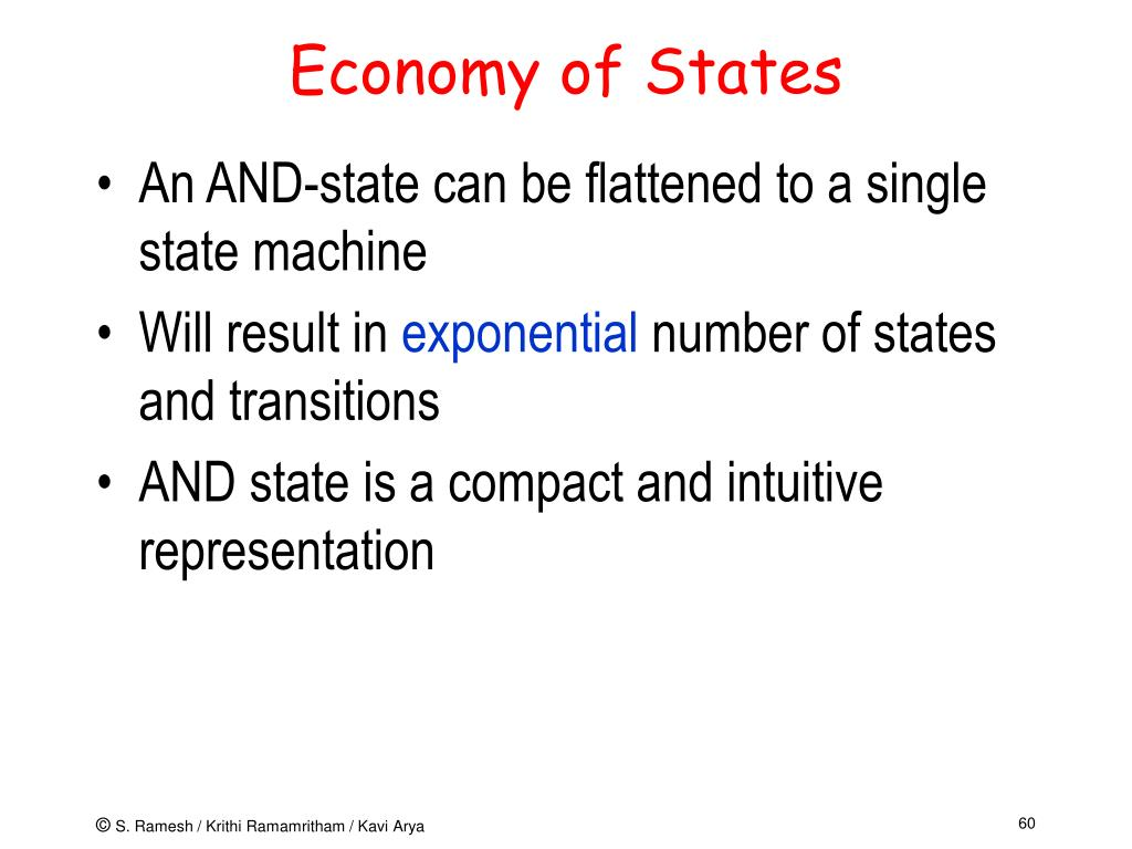Economy of States