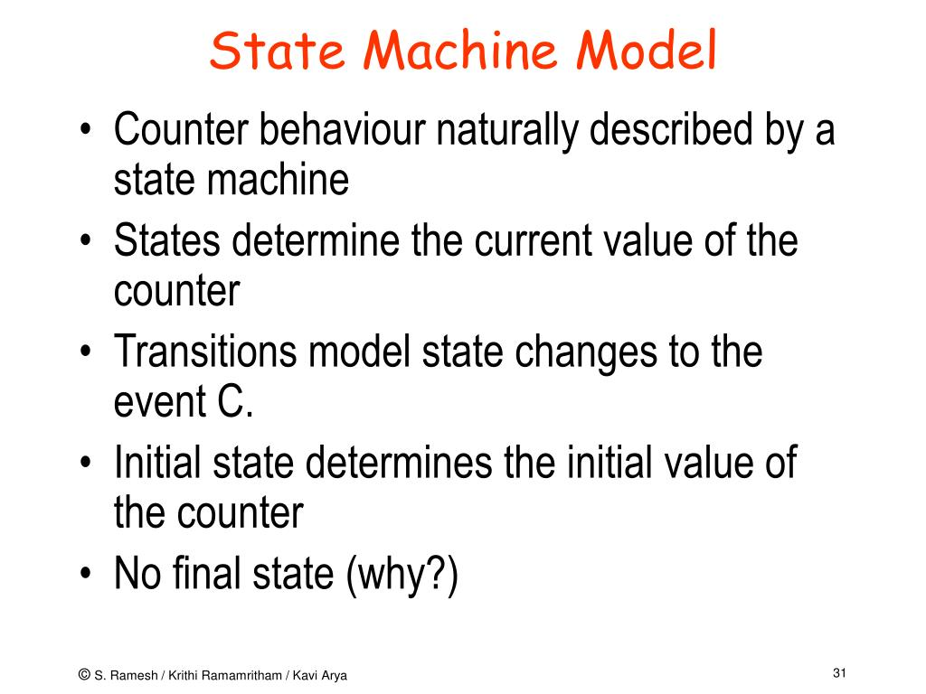 State Machine Model