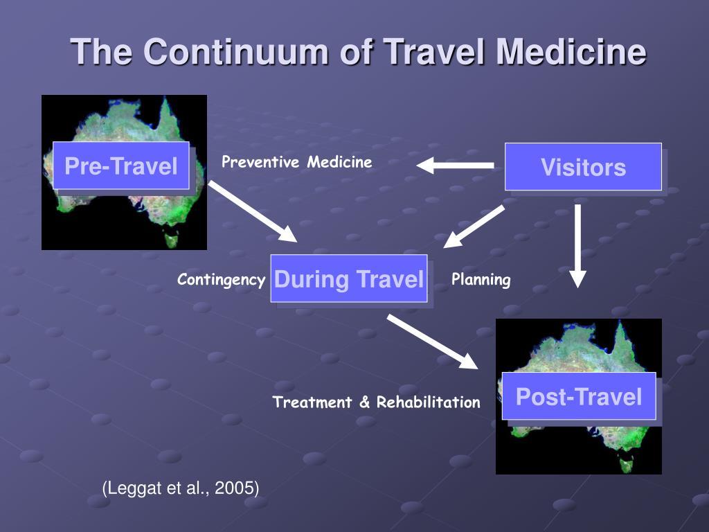 The Continuum of Travel Medicine