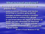 what is travel medicine5