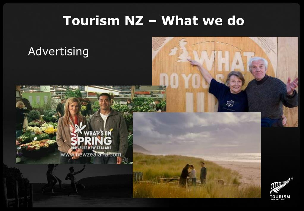 Tourism NZ – What we do