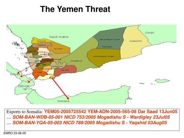 The Yemen Threat