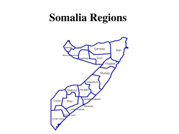 Somalia Regions