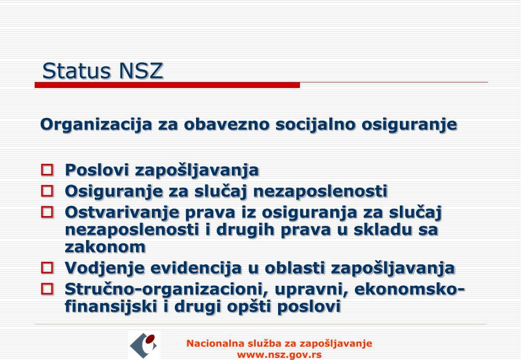 Status NSZ