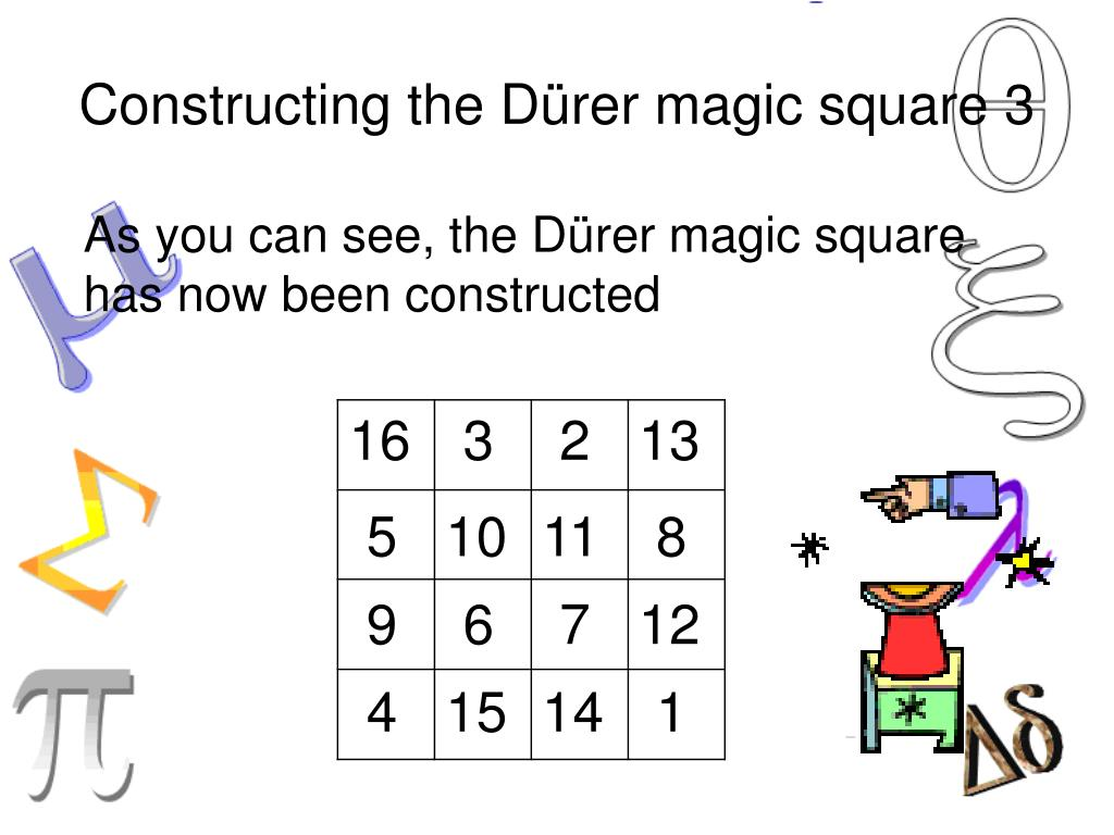 Constructing the D