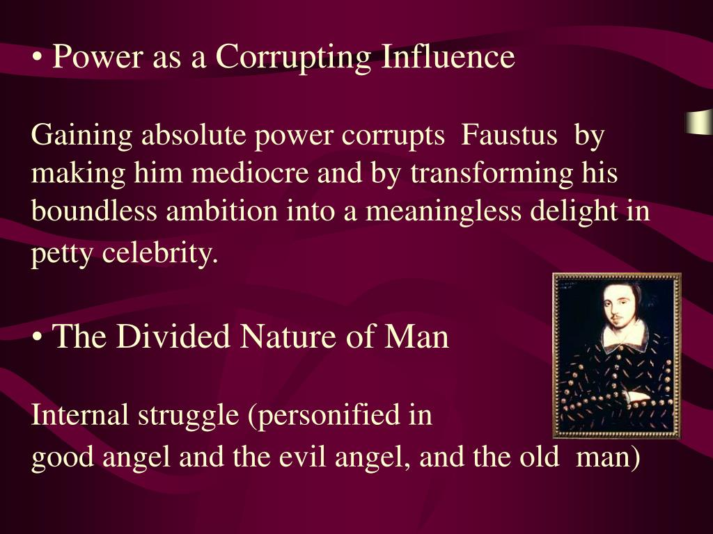 Power as a Corrupting Influence