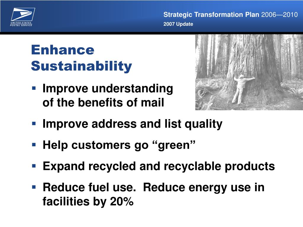 Enhance Sustainability