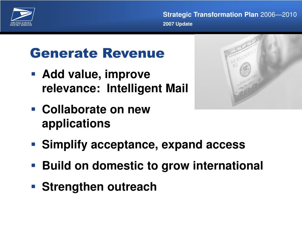 Generate Revenue