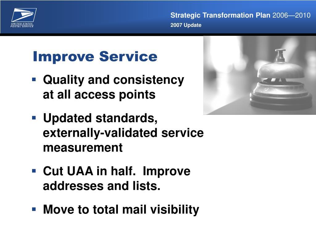 Improve Service