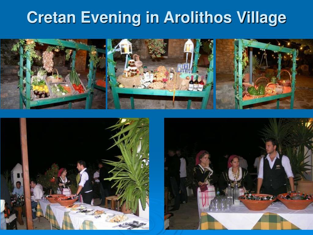 Cretan Evening in Arolithos Village