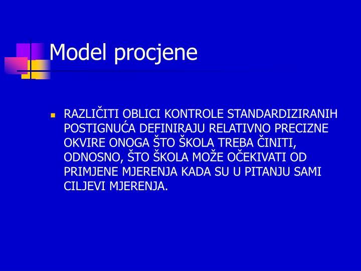 Model procjene