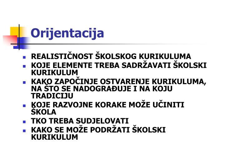 Orijentacija