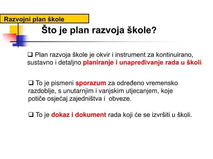 Razvojni plan škole