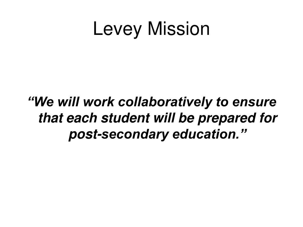 Levey Mission