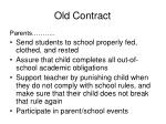 old contract20