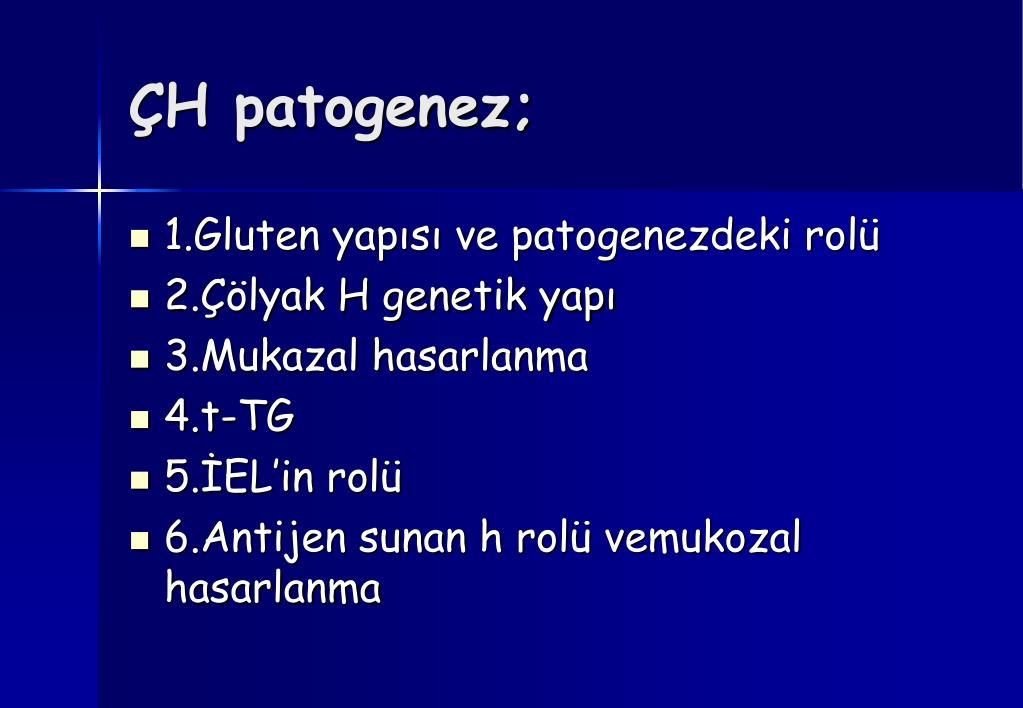 ÇH patogenez;