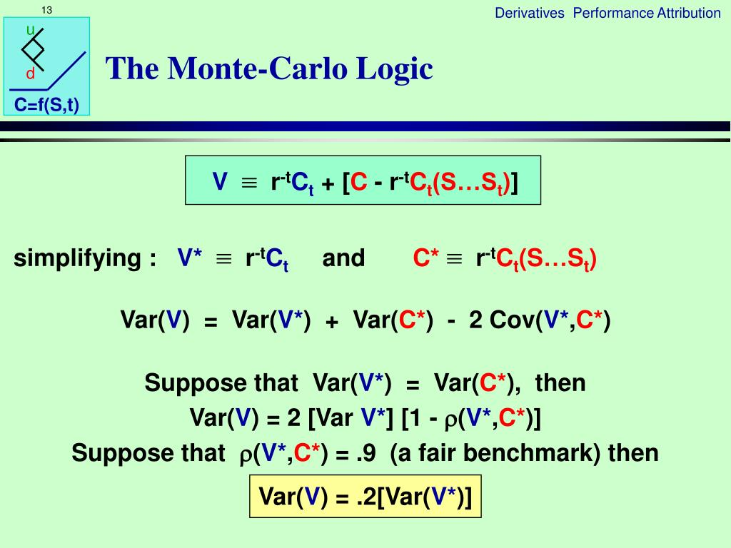 The Monte-Carlo Logic