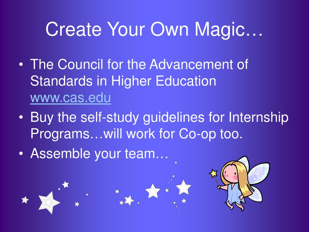 Create Your Own Magic…