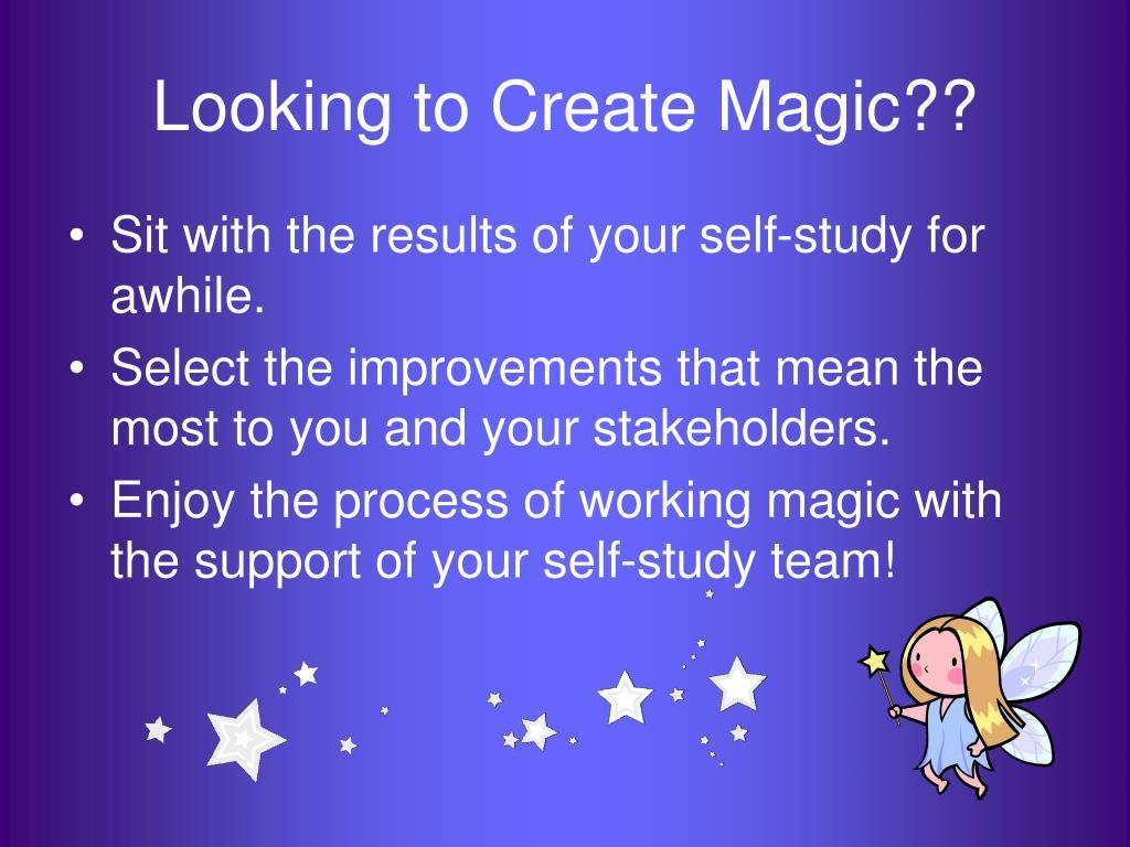 Looking to Create Magic??