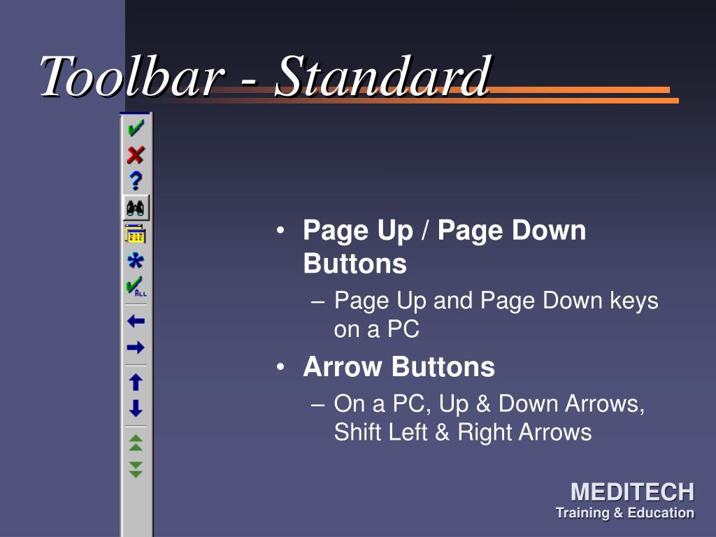 Toolbar - Standard