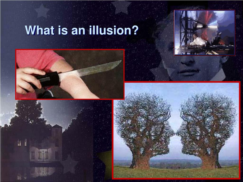 What is an illusion?