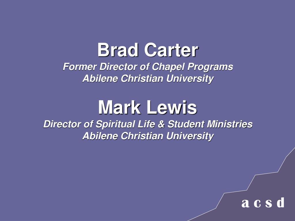 Brad Carter