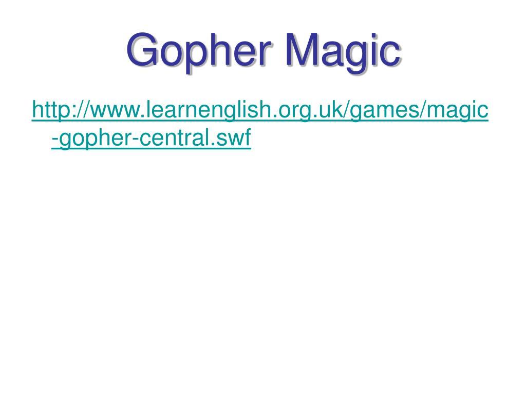 Gopher Magic
