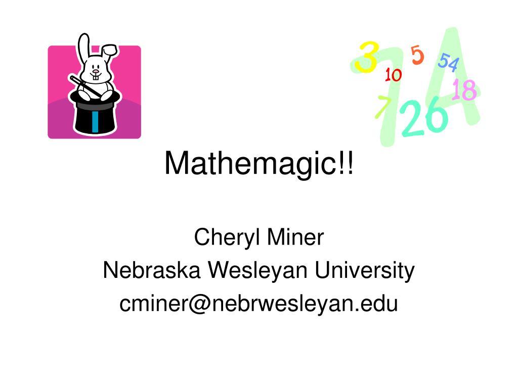 Mathemagic!!