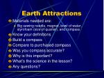 earth attractions