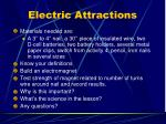electric attractions