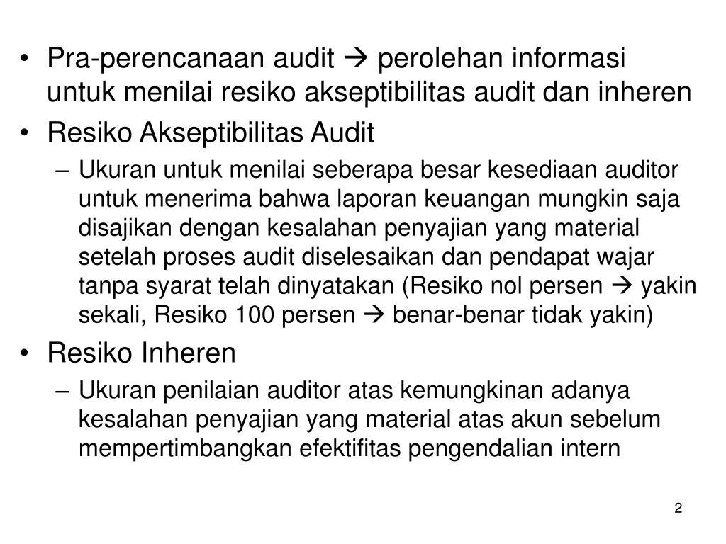 Pra-perencanaan audit