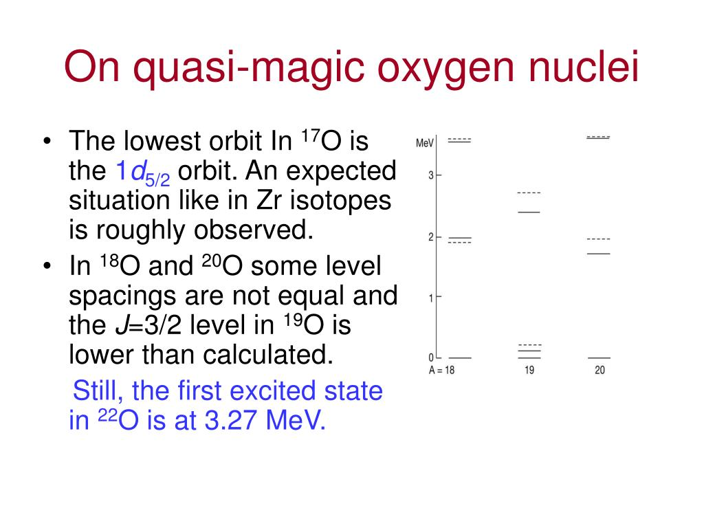 On quasi-magic oxygen nuclei