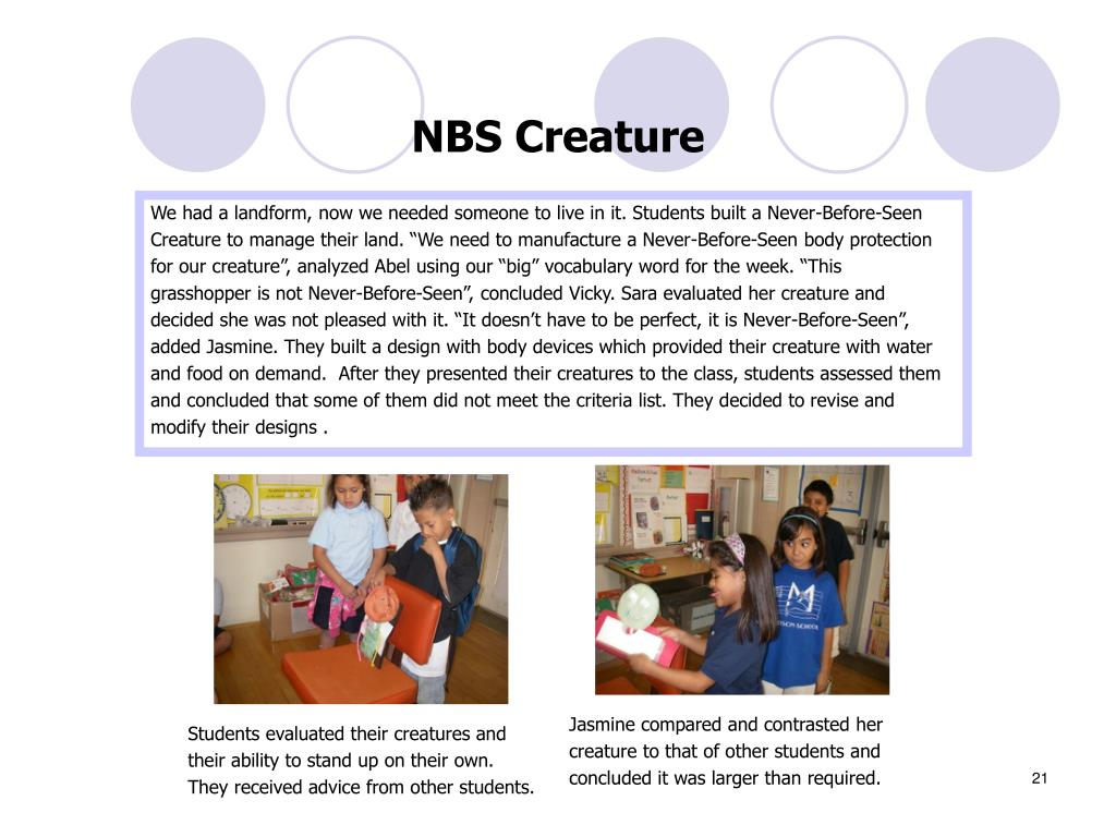 NBS Creature