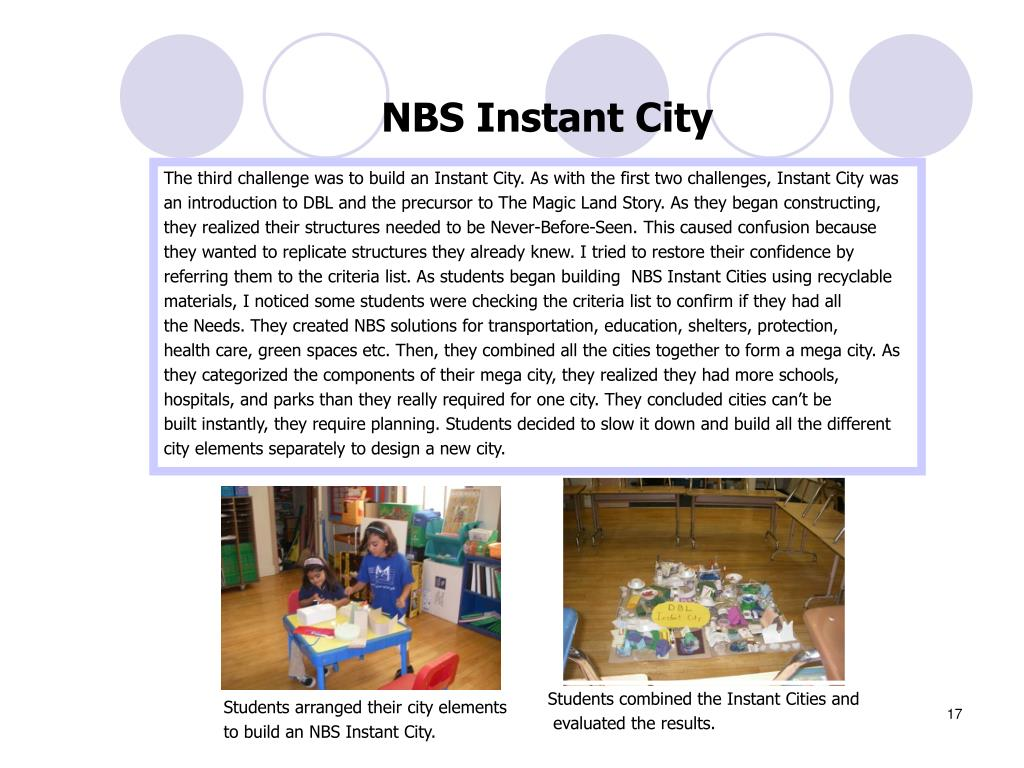 NBS Instant City