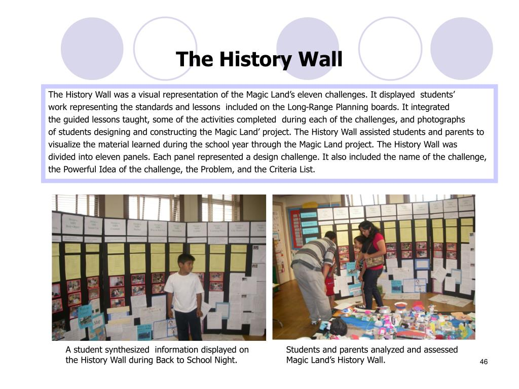 The History Wall