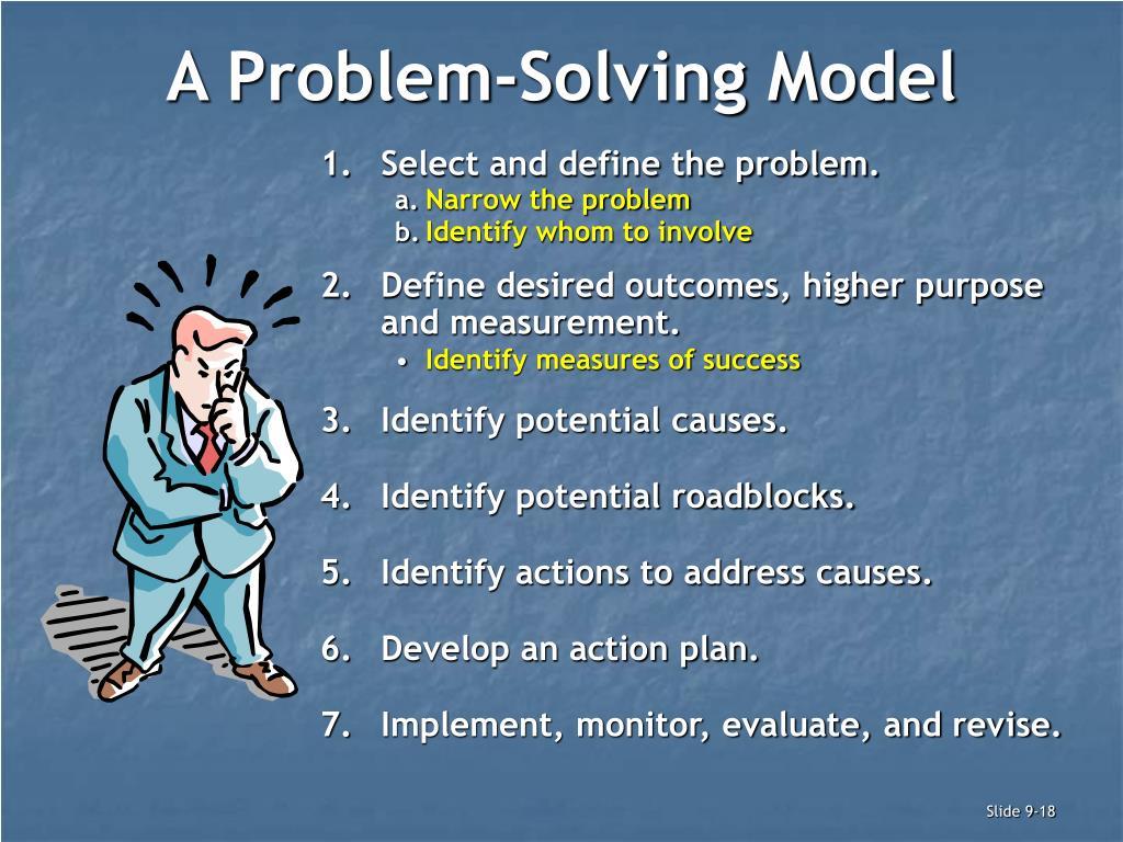 A Problem-Solving Model