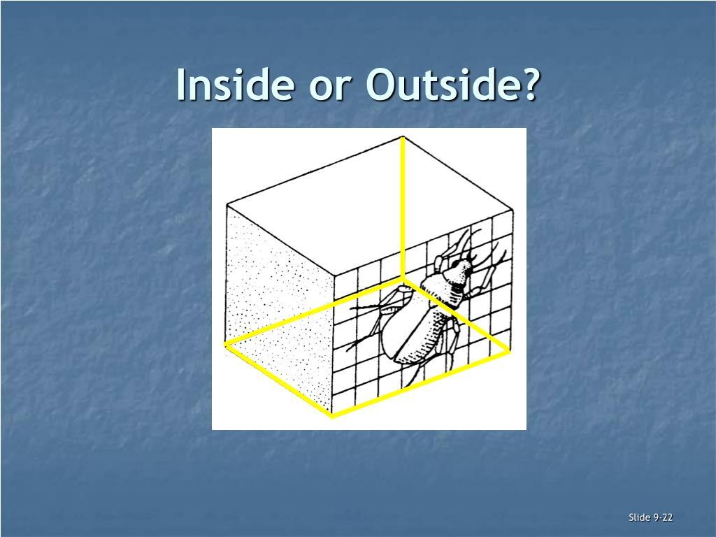 Inside or Outside?