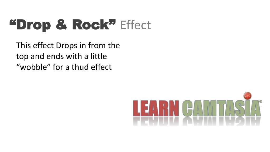 """""""Drop & Rock"""""""
