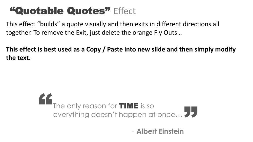 """Quotable Quotes"""