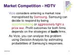 market competition hdtv