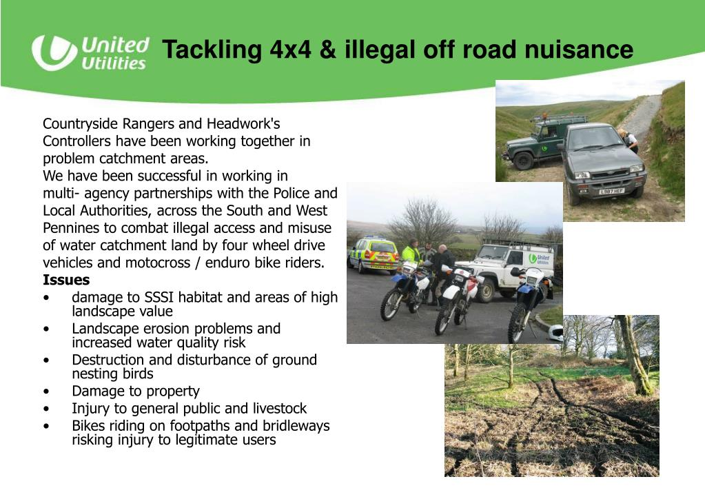 Tackling 4x4 & illegal off road nuisance